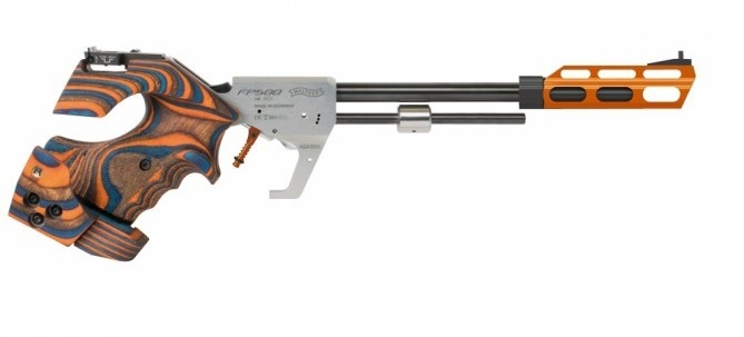 Pistolet libre Walther FP500